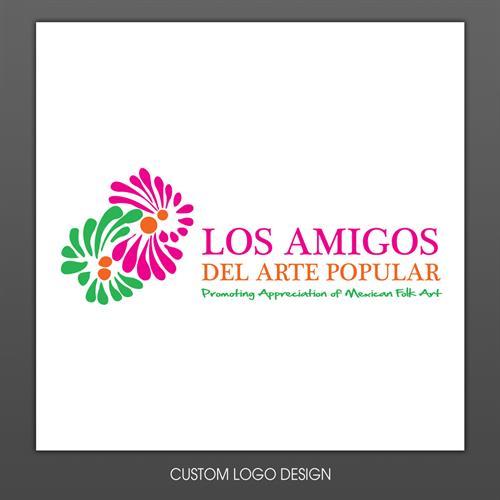 Los Amigos Del Arte Logo Design
