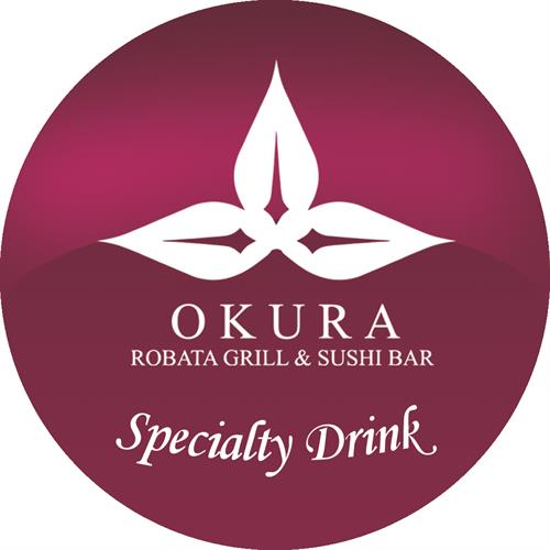 Okura Specialty Drink Sticker