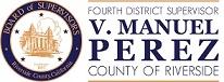Riverside County Supervisor V. Manuel Perez