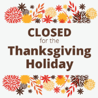 Thanksgiving - Office Closed