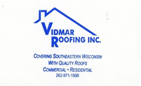 Vidmar Roofing