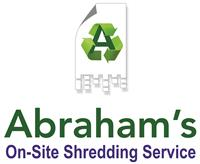 Abraham's On-Site Shredding Service