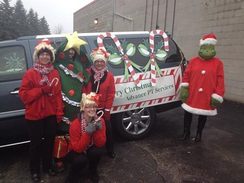 2014 holiday  parade sponsor