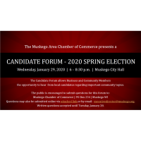 Press Release: Muskego Candidate Forum for 2020 Spring Election