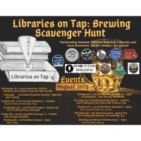 Libraries on Tap: Brewing Scavenger Hunt