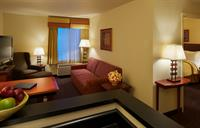 Our one-bedroom Executive Suites offer plenty of space to work and relax.