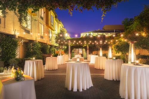 Outdoor Garden Terrace - Reception