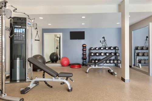 Fitness Center - Free weights, machine weights
