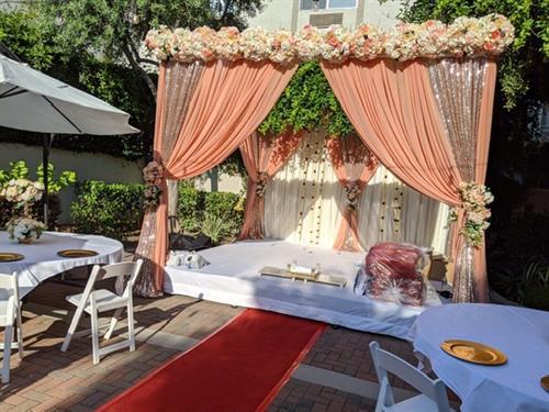 Outdoor Garden Terrace - Mandap