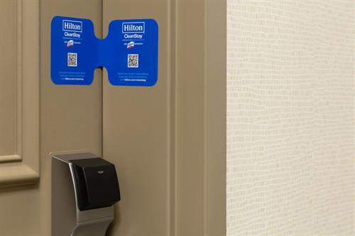Hilton CleanStay w/ Lysol Protection