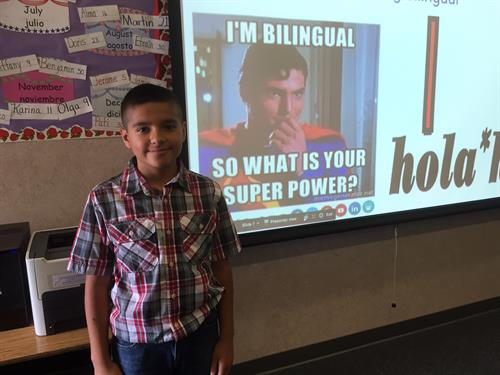 Super Power: Bilingualism! Sherman Oaks is a Dual Language Immersion School
