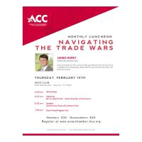 Monthly Luncheon - Navigating the Trade Wars