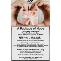 ASIAN CHAMBER OF COMMERCE TO DISTRIBUTE 1,000 MEALS TO ELDERLY OR SENIORS AND THOSE VULNERABLE WHO H
