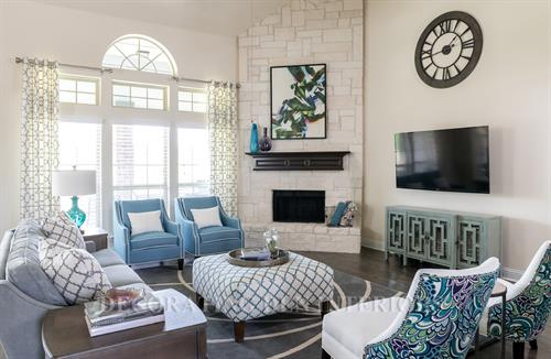 From rustic to transitional to modern - we will decorate your family room around your taste!