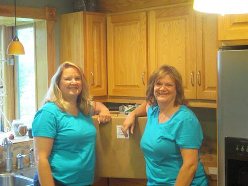 Owners, Rita (left) and Lisa (Right.