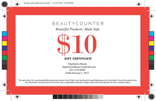 Steph Mauer Coupon