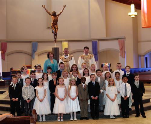First Communion Group Pictures