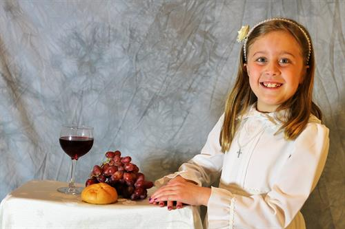 First Communion Individual Pictures