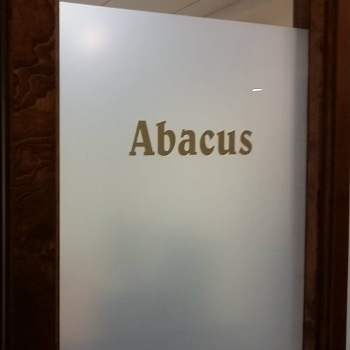 Abacus Sign