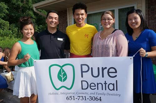 Some of Pure Dental Staff