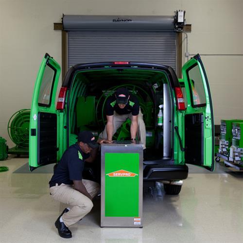 Van Unload