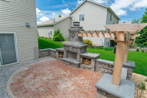 Fire Place | Inver Grove Heights, MN | Green Oasis