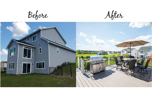 Before & After Decking | Woodbury, MN | Green Oasis
