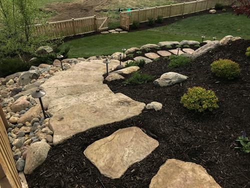 Landscaping Walkway | Hudson, WI | Green Oasis