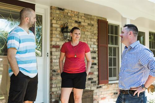 I have loved meeting neighbors, and hearing what's on their mind, what we're doing right and what we can work on