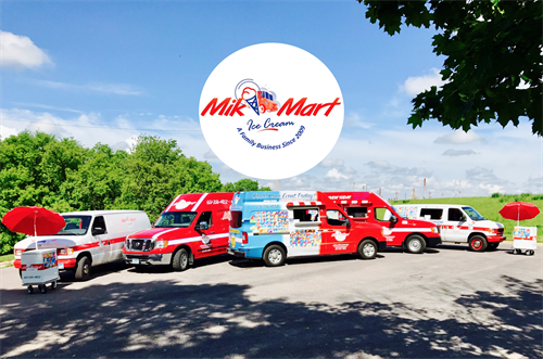 Mik Mart Fleet of Trucks