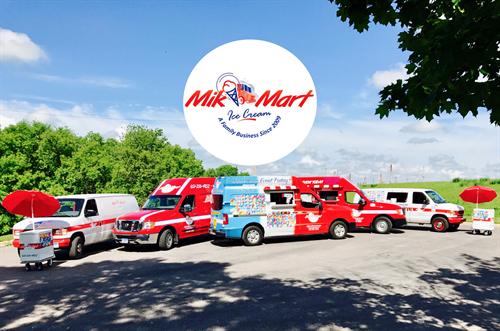 Mik Mart Fleet of Trucks