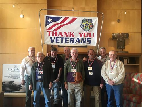 Day Out! Respite Participants & Volunteers Celebrate Veterans Day