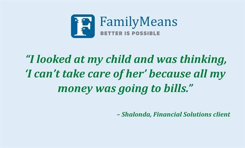 A Quote From FamilyMeans Financial Solutions Client