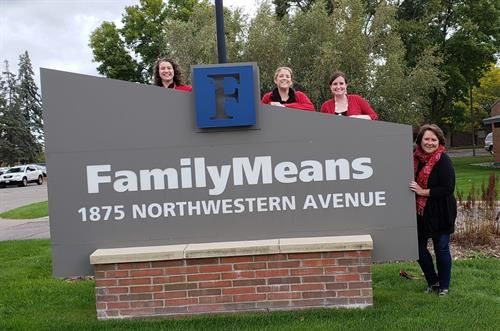 FamilyMeans Staff Celebrate Stillwater Ponies Homecoming Week