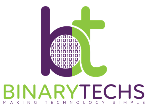 Binary Techs Inc. Your trusted and local cybersecurity and technology solution partner.
