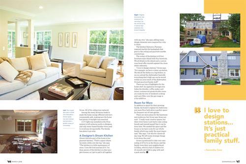 Christie Denson Freelance Writer. Magazine Feature Article - Edina Magazine