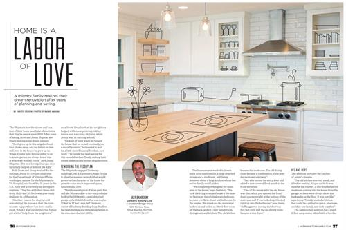 Christie Denson Freelance Writer. Magazine Feature Article - Lake Minnetonka Magazine