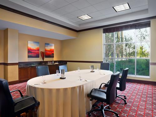 Enjoy our flexible seating arrangements for your next training or learning seminar!