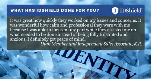 IDShield Testimonial