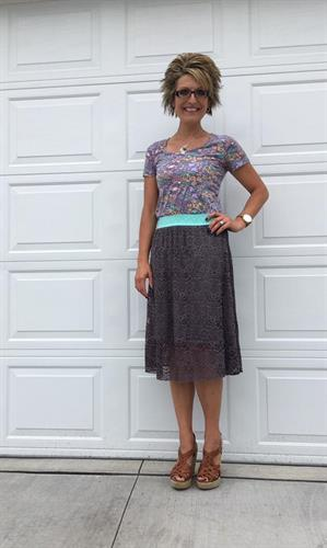 Classic Tee and Lola Skirt