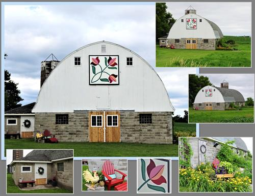 Willems Farm - Barn Quilt Collage