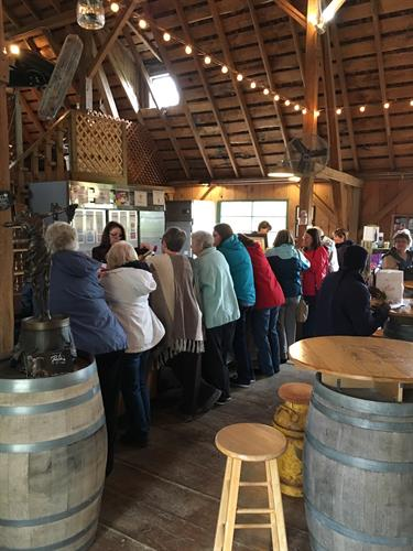 A stop at Parley Lake Winery & Deardorff Orchards is always fun!