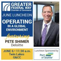 Luncheon: Operating in a Global Environment