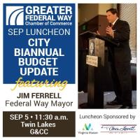 Luncheon: City Biannual Budget Update