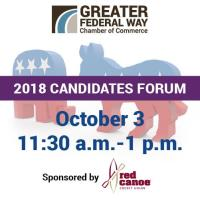 Luncheon: Candidate Forum: WA State Legislature