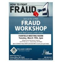 Fraud Workshop with Red Canoe Credit Union