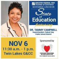 Membership Luncheon & Meeting: State of Education