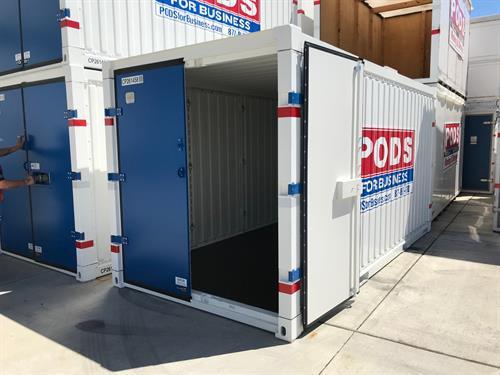 New All Steel Commercial Container!