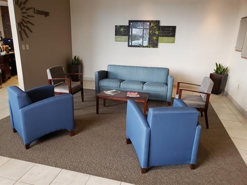 Carol Milgard Breast Center waiting area