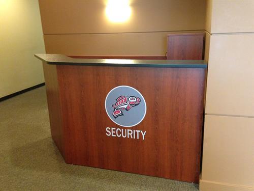 custom security station